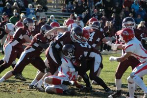 Barnstable and Falmouth have played more than 100 games on Thanksgiving.