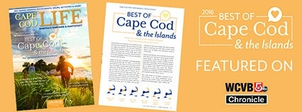 Cape Cod Life Best of 2016 featured on WCVB Chronicle